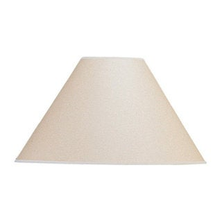 Basic Vertical Beige/Brown Coolie Lamp Shade