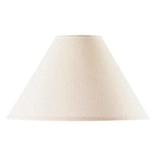 Vertical Coolie Off-white Linen Hardback Lamp Shade