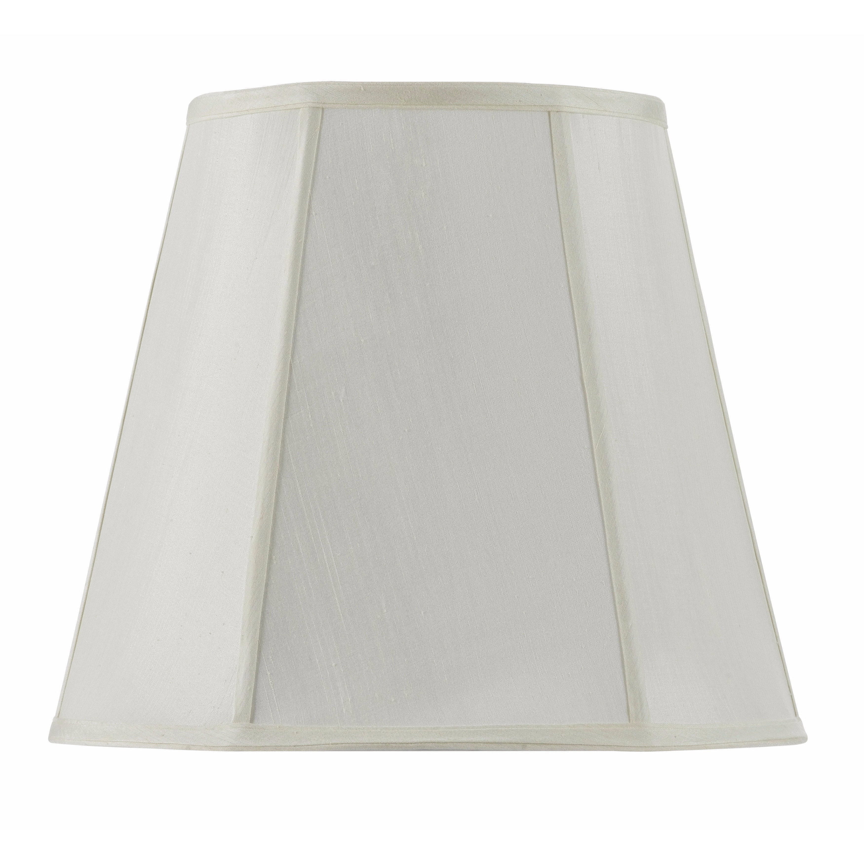 Vertical Piped Deep Empire Off-white (Beige) Fabric/Metal...