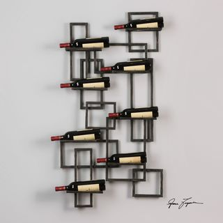 Uttermost Scheldt Wall Wine Rack