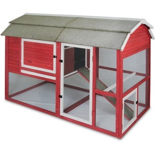 Precision Old Red Barn II Chicken Coop