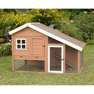 Precision Cape Cod Chicken Coop & Rabbit Hutch