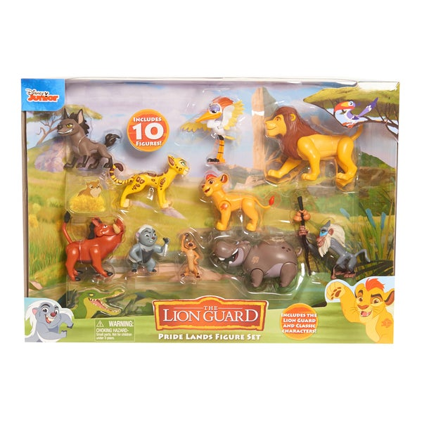 Disney Junior Lion Guard Pride Lands Deluxe 10-figure Set