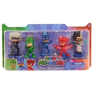 PJ Masks Collectible Figures (Set of 5)