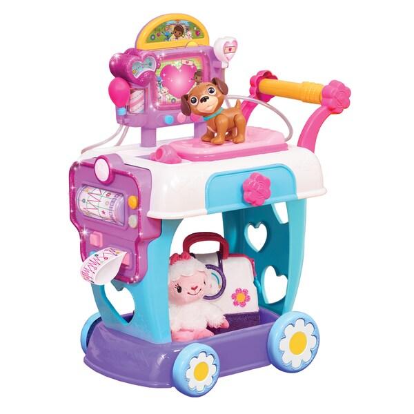 Doc McStuffins Plastic Toy Hospital Care Cart