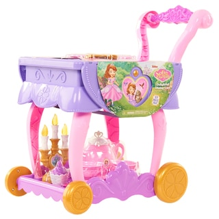 Disney Junior Sofia the First 13-piece Delightful Dining Cart