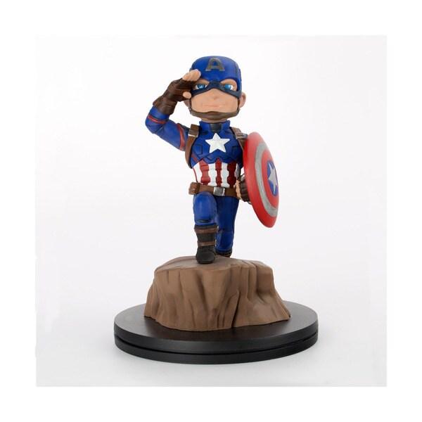 Quantum Mechanix Mohammad 'Hawk' Haque 'Captain America: Civil War' PVC Q-Fig Figure