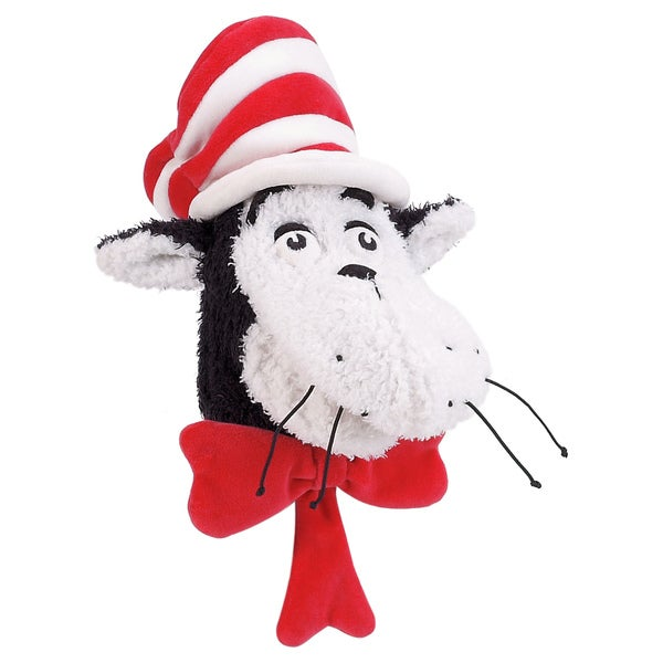 Manhattan Toy Dr. Seuss Cat in The Hat Hand Puppet Plush Toy