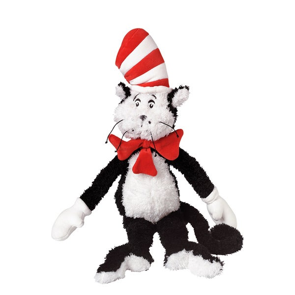 Manhattan Toy Dr. Seuss Cat in the Hat 20-inch Soft Plush Toy
