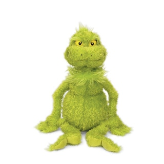 Manhattan Toy Dr. Seuss The Grinch 15-inch Soft Plush Toy