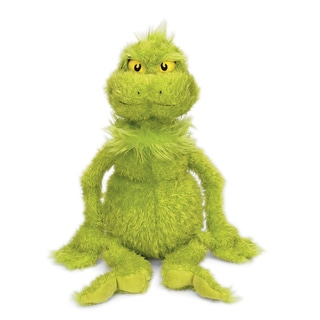 Manhattan Toy Dr. Seuss The Grinch 22-inch Soft Plush Toy