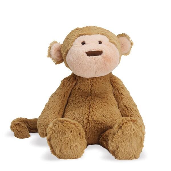 Manhattan Toy Lovelies Mocha Monkey 12-inch Plush Toy