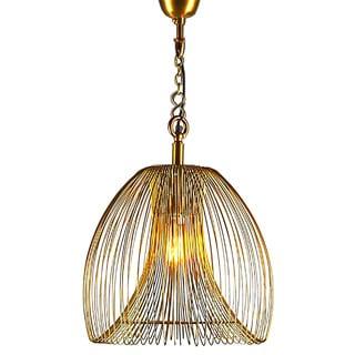 Horizon Lawrence Gold Wire Large Hanging Lamp