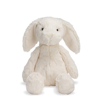 Manhattan Toy Lovelies White Riley Rabbit 12-inch Plush Toy