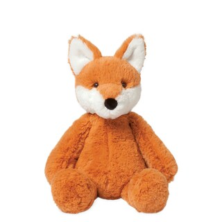 Manhattan Toy Kids' Lovelies Fraser Fox Fabric and Pellet-filled 12-inch Plush Toy