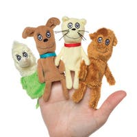 Manhattan Toy Dr. Seuss What Pet Should I Get Finger Puppet Set