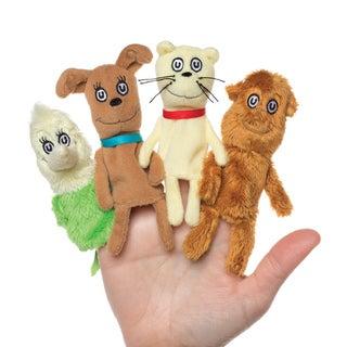 Manhattan Toy Dr. Seuss What Pet Should I Get Finger Puppet Set
