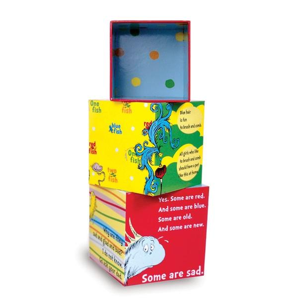 Manhattan Toy Dr. Seuss One Fish Stacking Blocks Toddler Toy