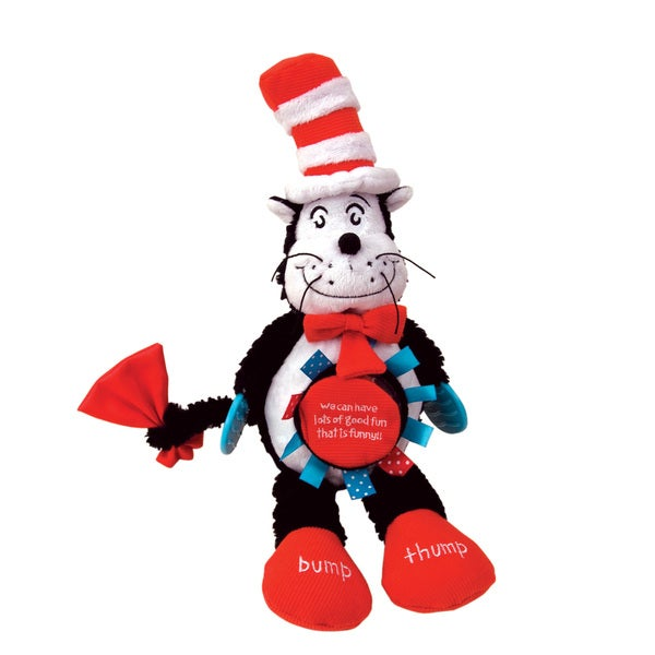 Manhattan Toy Dr. Seuss The Cat in the Hat Activity Baby Toy
