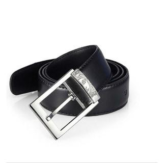 Versace Collection Men's Black Leather Belt
