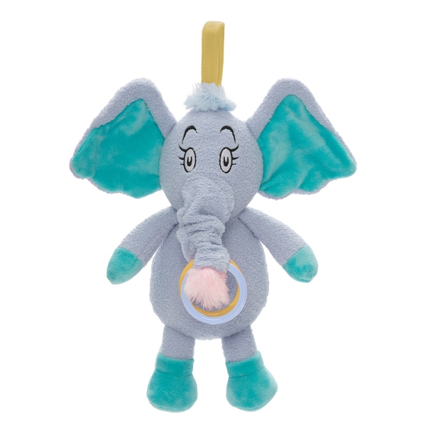 Manhattan Toy Dr. Seuss Horton Pull Musical Travel Toy & Teether