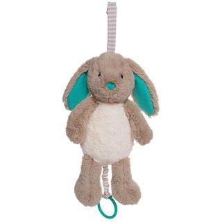 Manhattan Toy Woodland Babies Bellamy Bunny Pull Fabric Musical Plush Toy