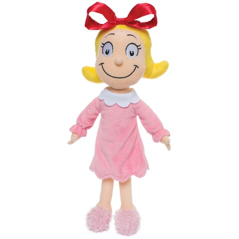 Manhattan Toy Fabric Dr. Seuss Cindy Lou Who 15-inch Soft Doll