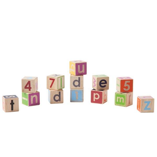 Manhattan Toy Wood Block Learning Set