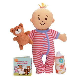 Manhattan Toy Wee Baby Stella Sleepy Time Scents Fabric 12-inch Soft Baby Doll Set