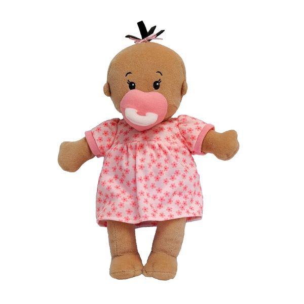 Manhattan Toy Wee Baby Stella Beige Fabric 12-inch Soft Baby Doll