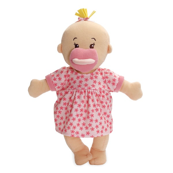 Manhattan Toy Wee Baby Stella Peach Fabric 12-inch Soft Baby Doll