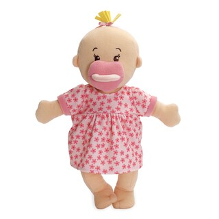 Manhattan Toy Wee Baby Stella Peach Fabric 12-inch Soft Baby Doll