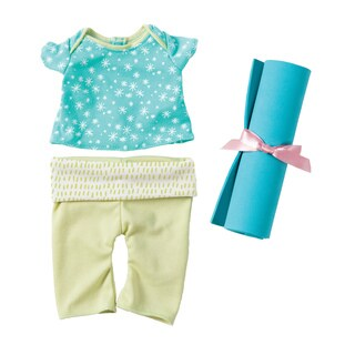 Manhattan Toy 12-inch Baby Stella Baby Doll Yoga Set