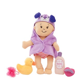 Manhattan Toy Wee Baby Stella 12-inch Soft Baby Doll and Bathing Set