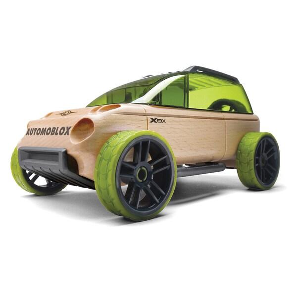 Automoblox Wood Mini X9-X Sport Utility Model