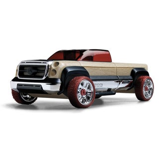 Automoblox Wood Mini T-900 Truck