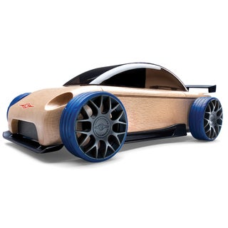Automoblox Wood Mini S9-R Sport Sedan Model