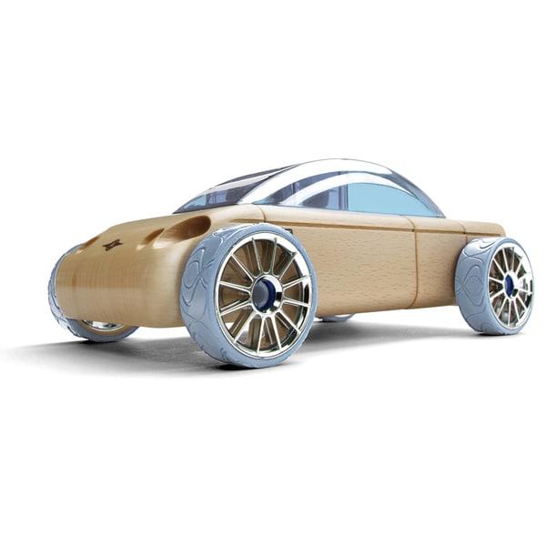 Automoblox Mini S9 Sedan Beech Wood Figurine Kit