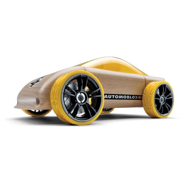 Automoblox C9 Multicolor Beechwood Sports Car