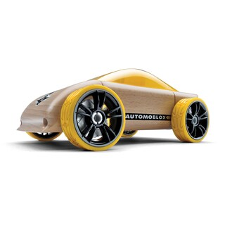 Automoblox C9 Multicolor Beechwood Sports Car