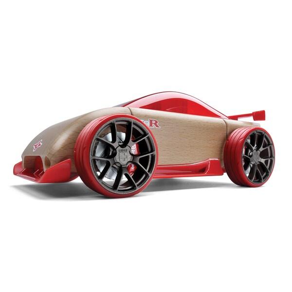 Automoblox C9-R Wood Sportscar Toy