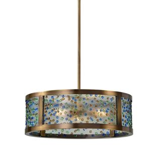 Uttermost Fuso 3 Light Drum Pendant