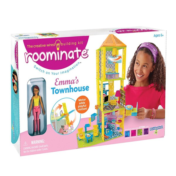 Roominate Emma's Townhouse STEM Wired Building Kit
