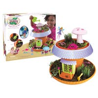 My Fairy Garden Freya's Magical Cottage Flower Pot Play Set - Orange/Purple