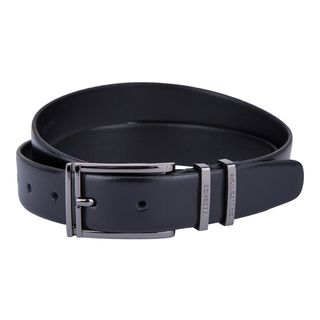 Versace Collection Black Leather Belt