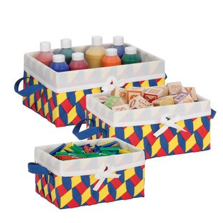Twisted Tote Set of 3 (RYB)