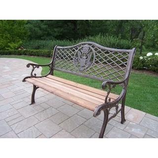 American Pride Garden Bench