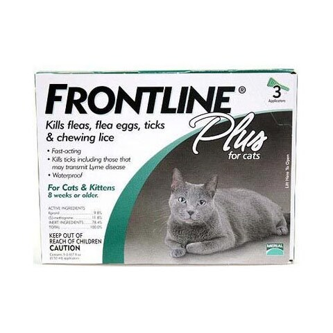 Frontline Flea Control Plus for All Cats And Kittens