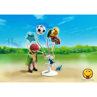 PlayMobil Kids' PM5546 Balloon Seller Figurine
