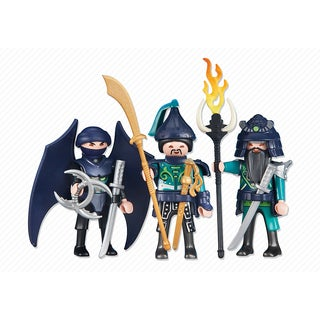 PLAYMOBIL PM6328 3 Green Samurai Knight Figures